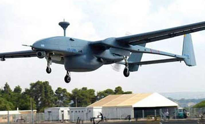 pakistan army shoots down indian spy drone