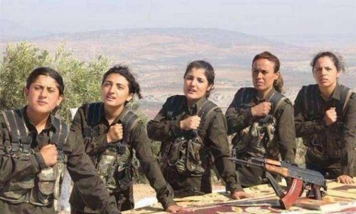 iraqi peshmerga starts entering syria s kobane