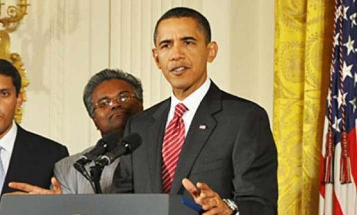 barack obama greets people on diwali