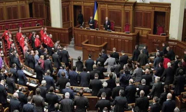 ukrainian parliament approves new defence minister