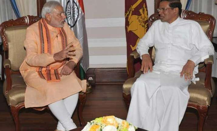 to trump beijing pm modi offers colombo first claim on india