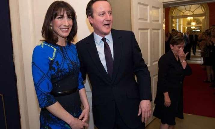 david cameron gets majority return of single party govt in