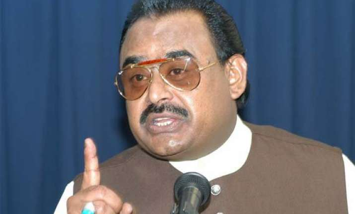pakistan mqm chief claims support for new province