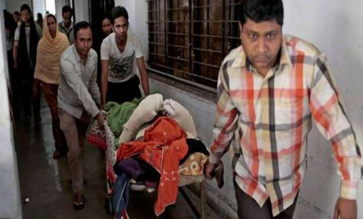 seven injured in guard s accidental firing in bangladesh