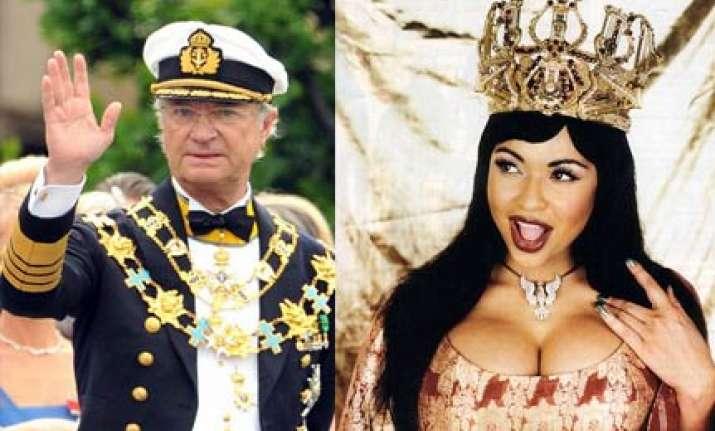 swedish king had a mistress indulged in wild sex parties