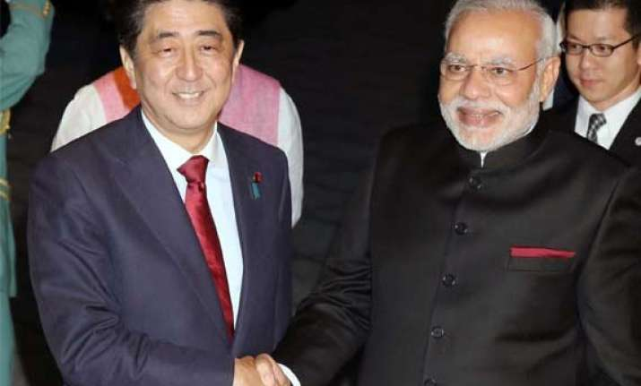 abe praises indo japan historical ties ahead of summit talks