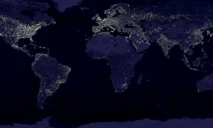 space photos from iss helps decode light pollution on earth