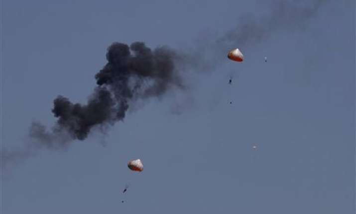 2 indonesia planes crash at air show practice pilots safe