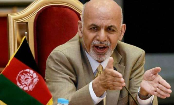 isis being wiped out in afghanistan ashraf ghani