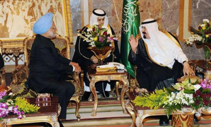 india saudi arabia sign extradition treaty pledge to fight