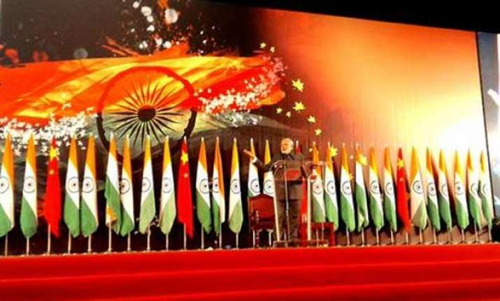 highlights pm modi s address to indian diaspora in shanghai