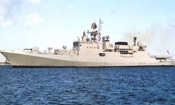 indian naval ship reaches egyptian port town