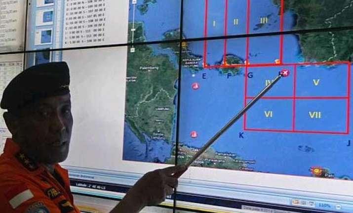 no trace of airasia plane second day s search futile