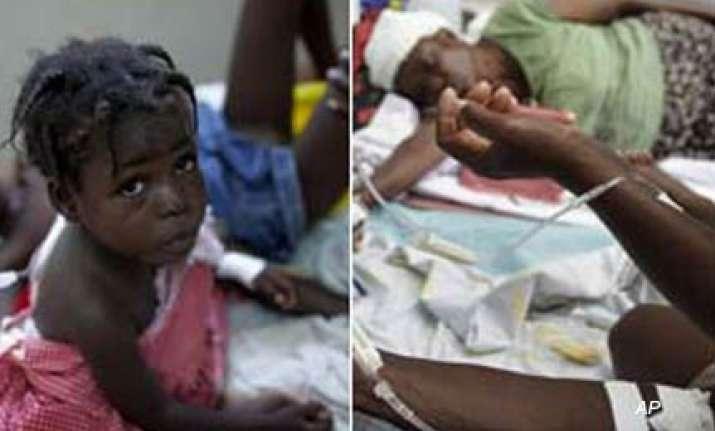 cholera outbreak leaves 142 dead in rural haiti
