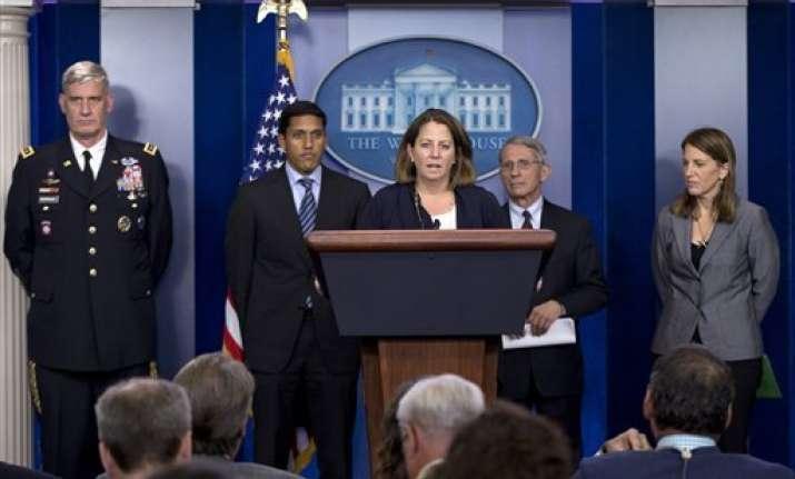barak obama administration urges calm over us ebola case