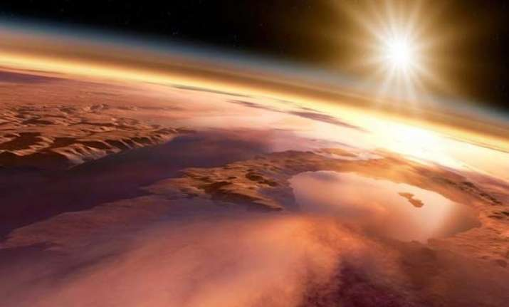 mineral veins hint microbial life on ancient mars