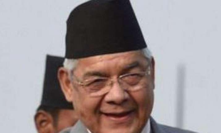india supporting blockade nepali deputy pm