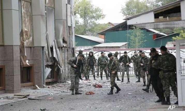 chechen parliament hostage crisis ends militants killed