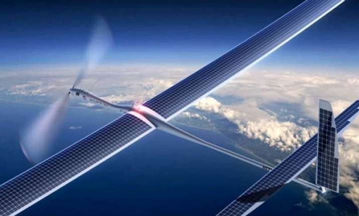 solar powered internet drone completes first test flight
