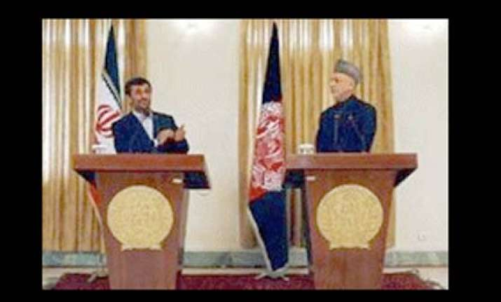 us playing double game in afghanistan says ahmedinejad