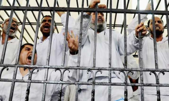 muslim brotherhood chief and 13 other members sentenced to