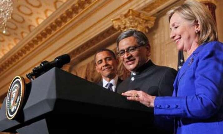india a rising global power says hillary clinton