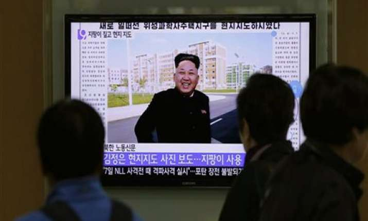 north korea leader kim jong un makes 1st appearance in 40