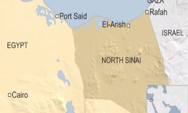 14 killed as militants attack security personnel in egypt