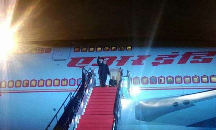 after xi an visit pm modi leaves for beijing