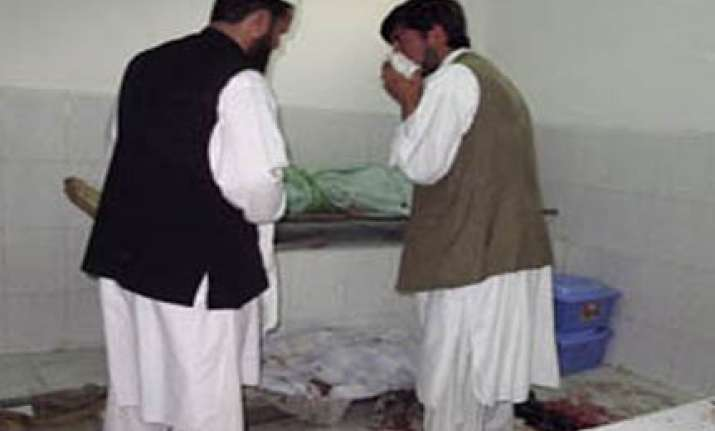 governor among 15 killed in mosque bombing in afghanistan
