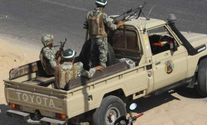 egypt army kills 17 terrorists