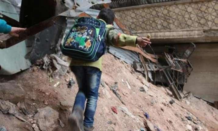 insurgent shelling of aleppo kills 13 civilians syria