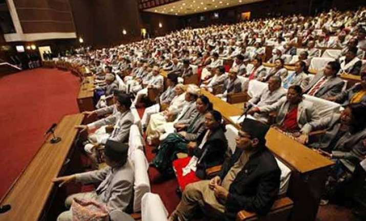 nepalese parliament to elect new pm tomorrow