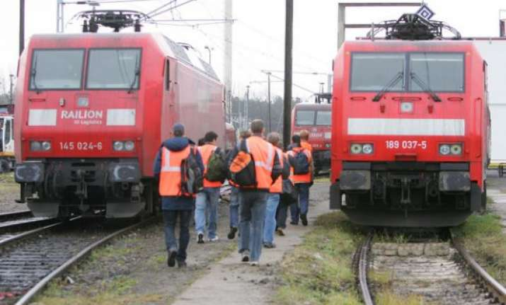 german train drivers to strike from wednesday