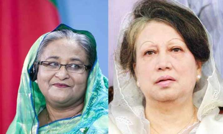 bangladesh pm rules out dialogue with arch rival zia