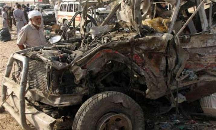 qaeda bombing kills 23 shiites in yemen rebel bastion