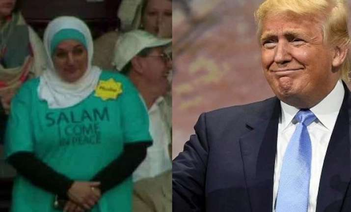 muslim woman ejected from donald trump rally for protesting