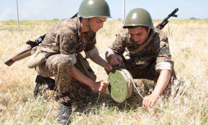 russia to intensify battle training in armenia