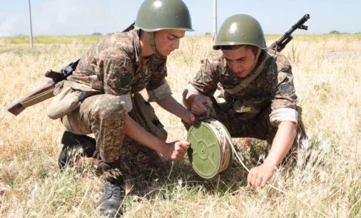russia to intensify battle training in armenia