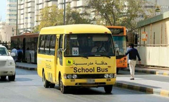 little indian girl found dead in uae school bus