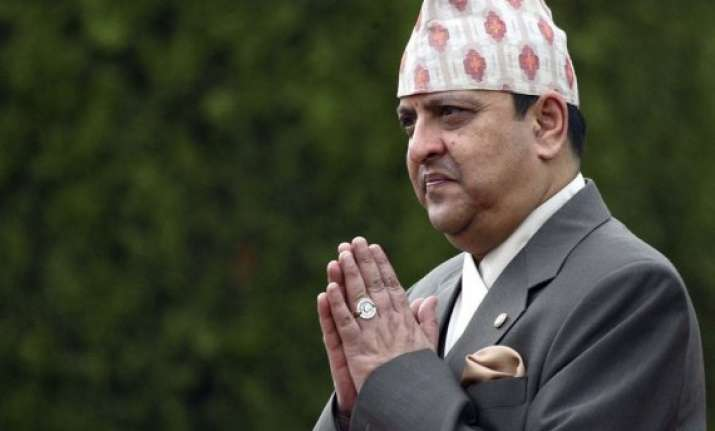 last king of nepal suffers heart attack