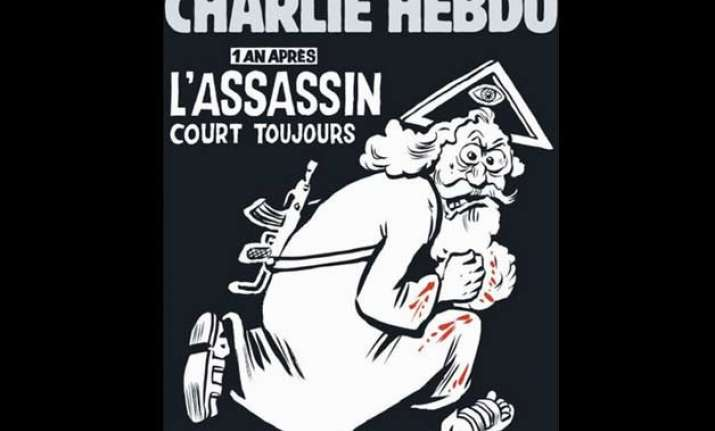 charlie hebdo s cover representing god with ak 47 is unfair