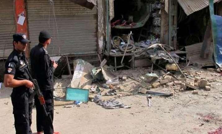 toy bomb kills three in pakistan