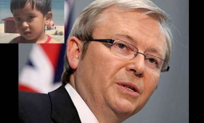 aus pm vows to get to bottom of indian toddler s death