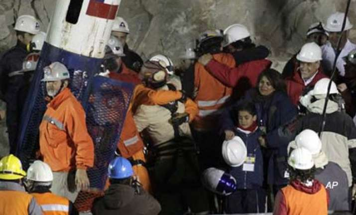 jubilation as last miner rescued in chile