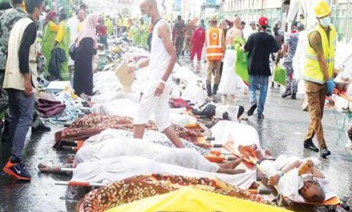 hajj stampede death toll of indians rises to 58 78 still