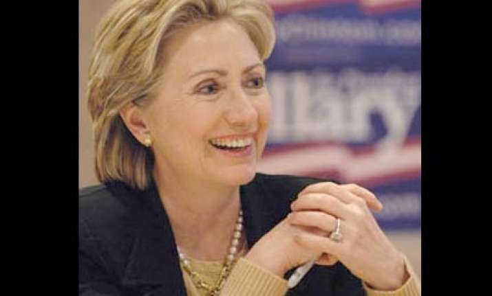 clinton greets people on occasion of diwali