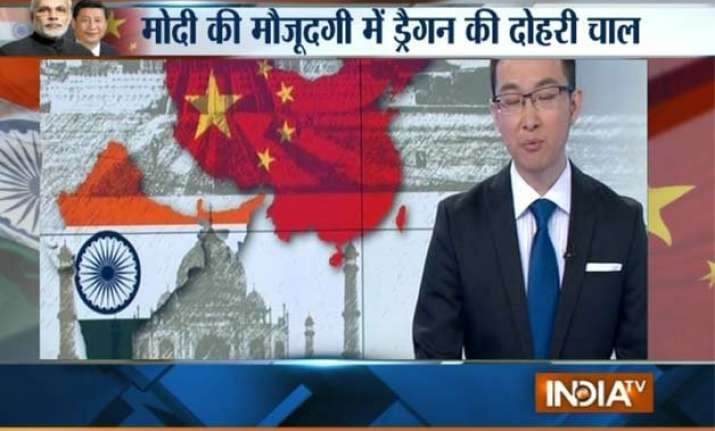 chinese media greets pm modi with wrong map of india