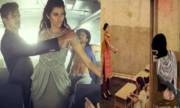 video game on pak school massacre or nirbhaya photo shoot