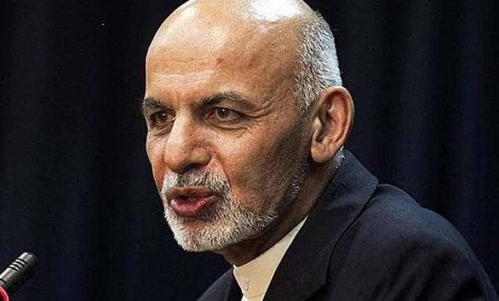 afghan president ghani walks the tightrope on taliban